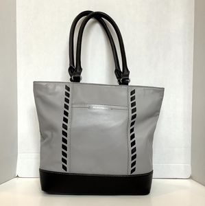 Tignanello Two-tone Leather Tote/Handbag